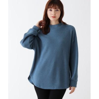SHOO・LA・RUE / 【M-LL】ハイネックふんわりプルオーバー WOMEN トップス > Tシャツ/カットソー