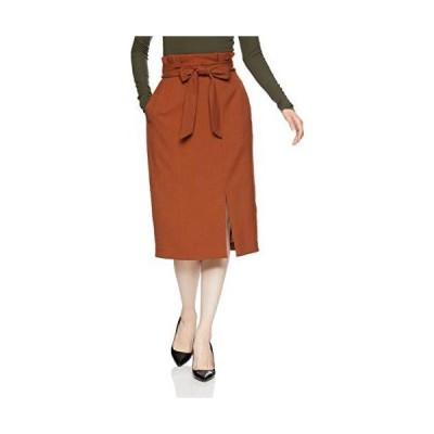 [ナラ カミーチェ] ロングタイトスカート レディース 30-82-08-933 オレンジ 日本 L (日本サイズ11 号相当)