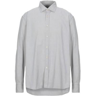 XACUS シャツ ライトグレー 45 コットン 100% シャツ