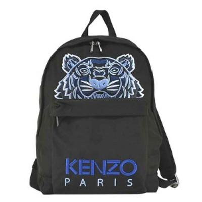 ケンゾー KENZO リュックサック FA65SF300F20 99 CANVAS KAMPUS TIGER BACKPACK タイガー バックパック BLACK ブラック+ライトブルー+