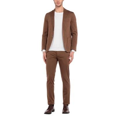 ローダ RODA スーツ ブラウン 50 コットン 98% / ポリウレタン 2% スーツ