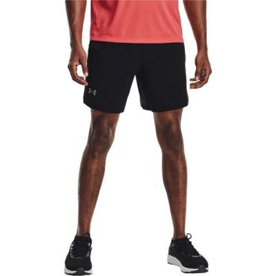 アンダーアーマー Under Armour メンズ ショートパンツ ボトムス・パンツ Launch Stretch Woven 7'' Shorts Black/Reflective