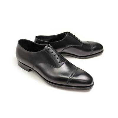 ビジネスシューズ 本革 ストレートチップ キャップトゥ メンズ ブラック/ブラウン クロケット&ジョーンズ 革靴 パンチドキャップトゥ