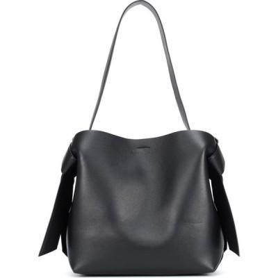 アクネ ストゥディオズ Acne Studios レディース ショルダーバッグ バッグ Musubi Medium leather shoulder bag Black