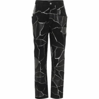 イザベル マラン Isabel Marant レディース ボトムス・パンツ レザーパンツ Maeko straight leather pants Black