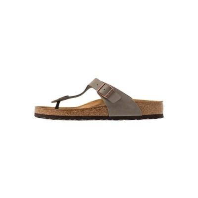 ビルケンシュトック サンダル メンズ シューズ GIZEH - T-bar sandals - stone