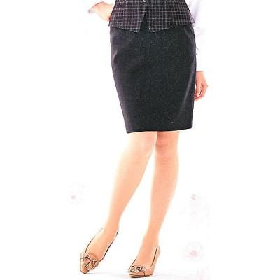 FS4566-2 セミタイトスカート(9号:52cm丈) 全1色 (フォーク FOLK ヌーヴォ NUOVO 事務服 制服)