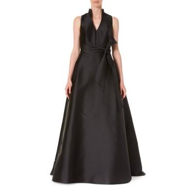 キャロライナヘレラ レディース ワンピース トップス Icon 2.0 Vneck Gown With Sta