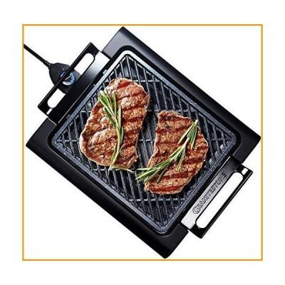 [新品]GRANITESTONE 2584 Indoor Electric Smoke-Less Grill with Cool-touch handles and adjustable Temperature Dial, Nonstick, PFOA-Free,