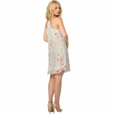 ラベンダーブラウン LAVENDER BROWN レディース ワンピース スリップドレス キャミワンピ ワンピース・ドレス Floral Cami Slip Dress Ba