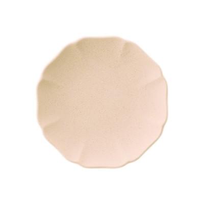 日本製 美濃焼 丸皿 おしゃれ |[美濃焼] 豆皿 ハナ ピンク KEYUCA(ケユカ)