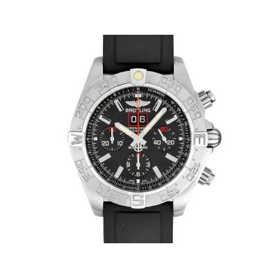 ブライトリング 時計 クロノマット ブラックバード クロノグラフ SS メンズ 自動巻き 黒文字盤 A440B71RPR 2000本限定