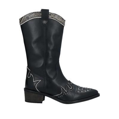 CUPLÉ ブーツ ブラック 36 革 ブーツ