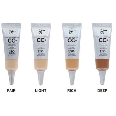 【国内発送】IT COSMETICS イットコスメティクス Your Skin But Better CC+ Cream with SPF 50 mini 4ml