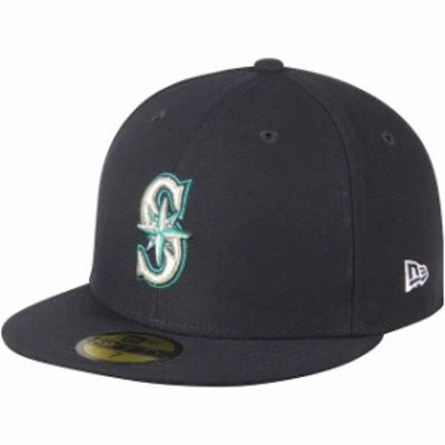 New Era ニュー エラ 帽子 ハット New Era Seattle Mariners Womens Navy Authentic Collection On-Field 59FIFTY Fitted Hat