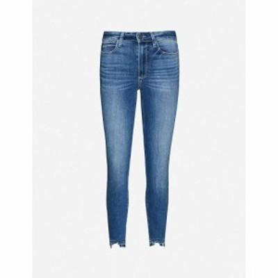 ペイジ PAIGE レディース ジーンズ・デニム ボトムス・パンツ Margot raw-hem skinny high-rise jeans Freestyle Distressed Hem