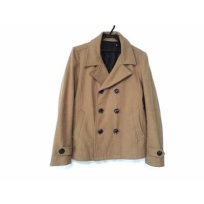 フーガ FUGA コート サイズ46 XL メンズ - ブラウン 長袖/冬【中古】20200909