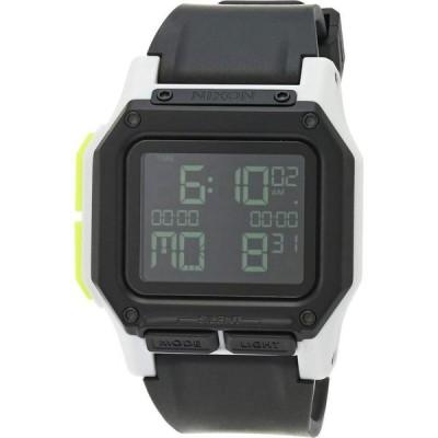 ニクソン Nixon メンズ 腕時計 Regulus Black/White/Lime
