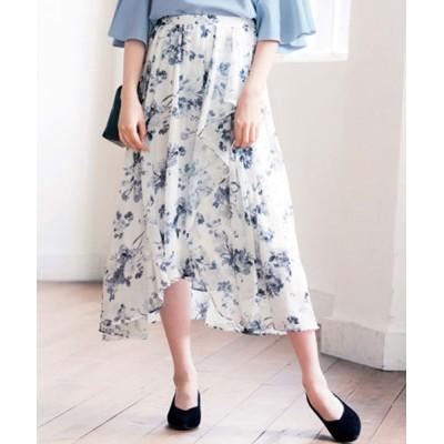 GeeRA / イレギュラーヘムロングスカート WOMEN スカート > スカート