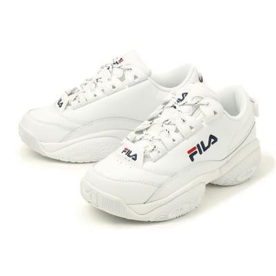 FILA(フィラ) PROVENANCE WOMEN'S(プロヴィナンス ウィメンズ) 5XM00003-125 ホワイト/ネイビー/レッド