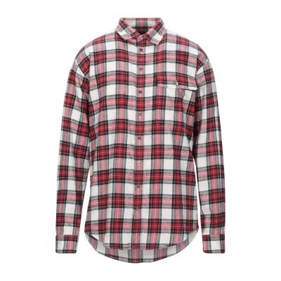 ディースクエアード DSQUARED2 シャツ レッド 46 コットン 100% シャツ