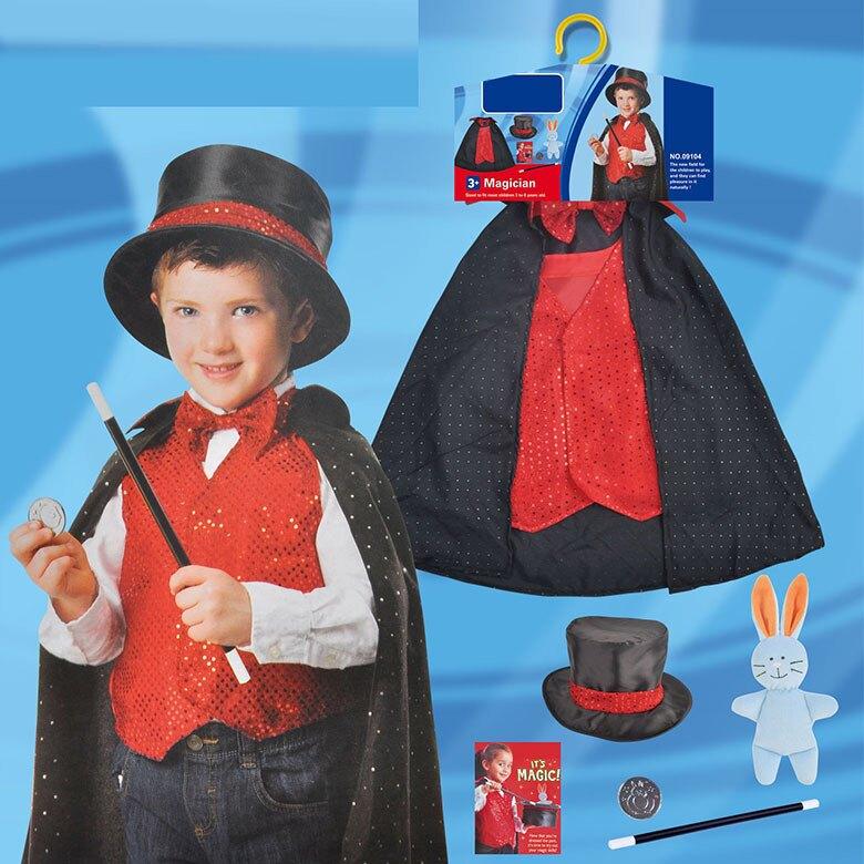 東區派對-  萬聖節服裝/,變裝派對,/兒童變裝服-魔術師套裝/兒童魔術師服裝