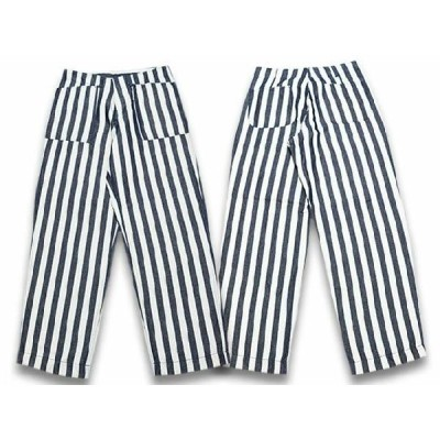 John Gluckow/ジョングラッコー2019SS「Stripe Field Trousers/ストライプフィールドトラウザース」(JG41372