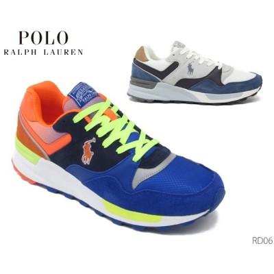 POLO ポロ ラルフローレン トラックスターPP スニーカー RD06 トレイルシューズ メンズ 靴 正規品