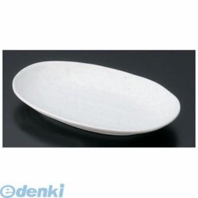 [RMI6701] マイン メラミンウェア 白 小判皿 大 M11-112 4525328111123