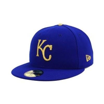 ニューエラ メンズ 帽子 アクセサリー Kansas City Royals Authentic Collection 59FIFTY Cap Light Royal