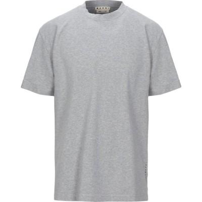 マルニ MARNI メンズ Tシャツ トップス T-Shirt Grey