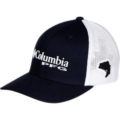 コロンビア メンズ 帽子 アクセサリー PFG Mesh Trucker Hat Collegiate Navy