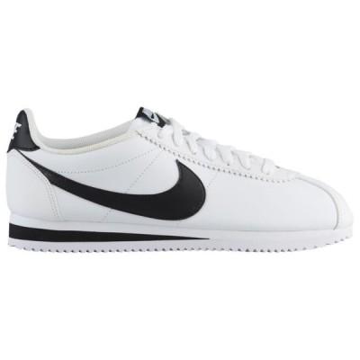 ナイキ レディース クラシック コルテッツ Nike Classic Cortez スニーカー White/Black/White   Leather