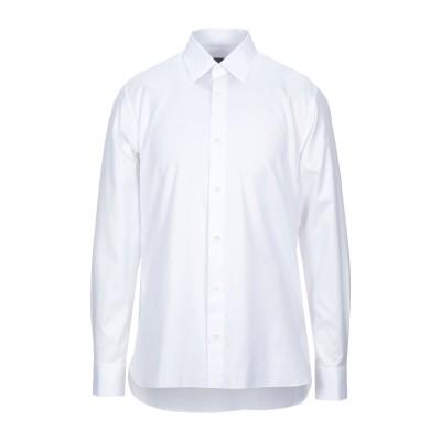 ZZEGNA シャツ ホワイト 39 コットン 100% シャツ
