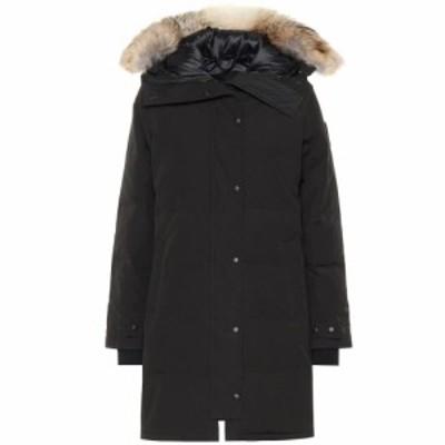 カナダグース Canada Goose レディース ダウン・中綿ジャケット アウター Black Label Shelburne down coat Black