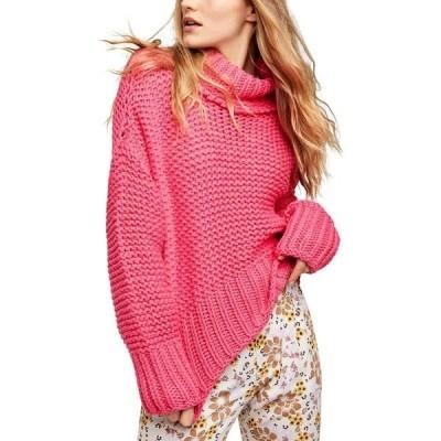 フリーピープル Free People レディース ニット・セーター トップス My Only Sunshine Sweater Hot Pink