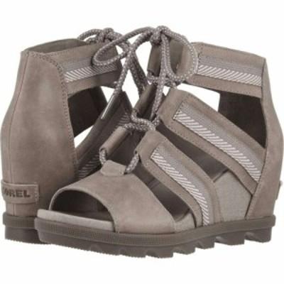ソレル SOREL レディース サンダル・ミュール シューズ・靴 Joanie II Lace Ash Brown