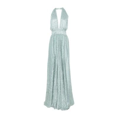 ULTRA'CHIC ロングワンピース&ドレス ライトグリーン 40 レーヨン 55% / シルク 45% ロングワンピース&ドレス