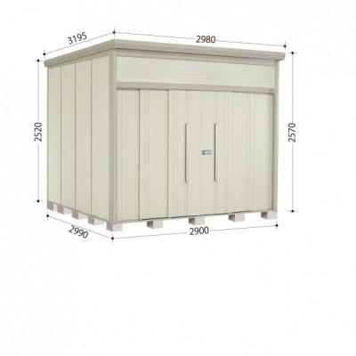物置 屋外 おしゃれ タクボ物置 JN/トールマン JN-2929 一般型 標準屋根 『追加金額で工事可能』 ムーンホワイト