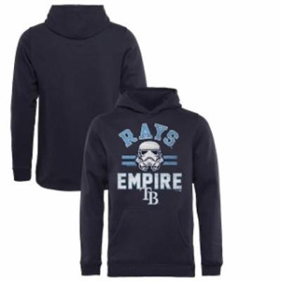 Fanatics Branded ファナティクス ブランド スポーツ用品  Fanatics Branded Tampa Bay Rays Youth Navy MLB Star Wars Empire Pullover