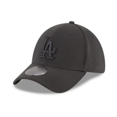 ニューエラ 帽子 アクセサリー メンズ Los Angeles Dodgers Blackout 39THIRTY Cap Black