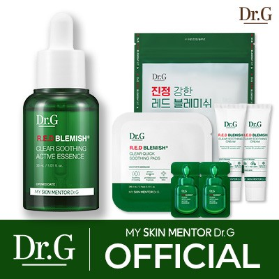 【Dr.G公式/ドクタージー】レッドブレミッシュクリアシージングアクティブエッセンス30ml/ R.E.D Blemish Clear Soothing Active Essence/美容液/韓国コス