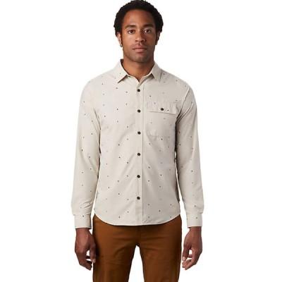 (取寄)マウンテンハードウェア ロングスリーブ シャツ - メンズ Mountain Hardwear Greenstone Long-Sleeve Shirt - Men's Lightlands Dot Scatter Print