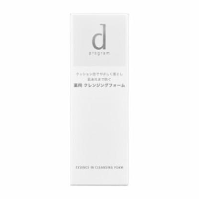 【医薬部外品】資生堂 dプログラム エッセンスイン クレンジングフォーム 120g