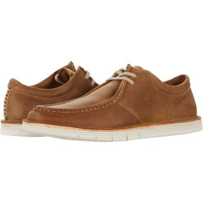 クラークス Clarks メンズ スニーカー シューズ・靴 Forge Run Tan Leather