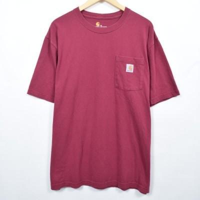 カーハート ワンポイントロゴポケットTシャツ XXL /eaa039831