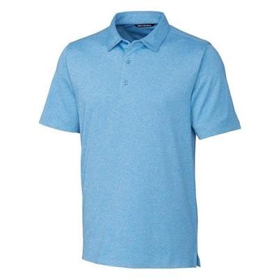 カッターアンドバック メンズ シャツ トップス Forge Heathered Stretch Polo Shirt
