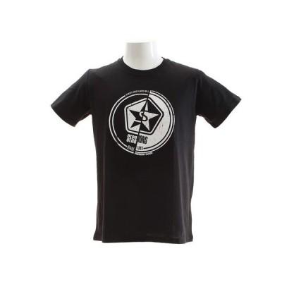 セッションズ(SESSIONS) Tシャツ メンズ 半袖 187003 BLK (メンズ)