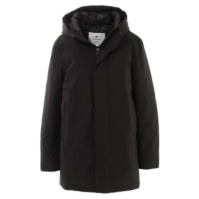 ウールリッチ WOOLRICH 中綿入り ジャケット HOODED CITY COAT ブラック メンズ woou0253mr-ut2345-100