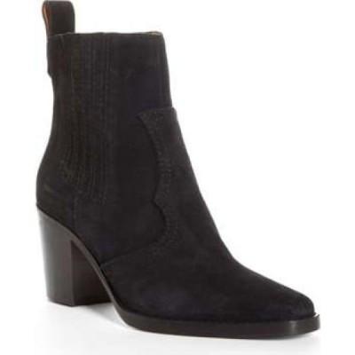 ガニー GANNI レディース ブーツ ウエスタンブーツ シューズ・靴 Short Western Boot Black